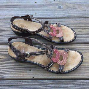 Clark's Bendables Genuine leather sandals